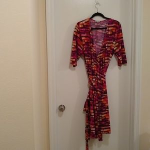 Kiyonna wrap dress